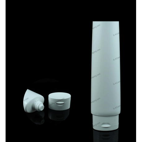 "40mm (1 9/16"") Plastic Oval Tube with Oval Flip Top Cap"