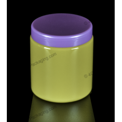 500ml Plastic PET Jar Container for Cosmetics Packaging