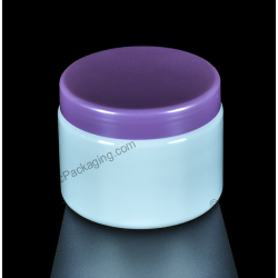 300ml 10oz Plastic PET Jar Container for Cosmetics Packaging