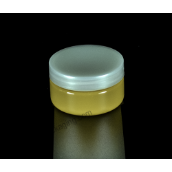 70ml Plastic PET Jar Container with Screw On Cap for Cosmetics Packaging
