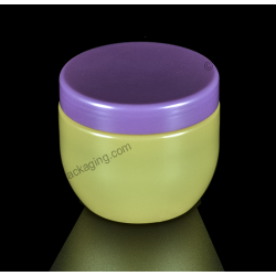 200ml Plastic PET Jar with Screw On Cap for Cosmetics Packaging