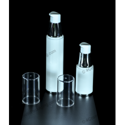 15ml 30ml 50ml Plastic PP Airless Pump Bottle for Cosmetics Packaging