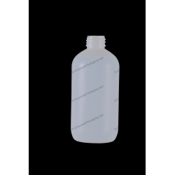 250ml Plastic HDPE Bottle 24/410 Finish for Cosmetics Packaging