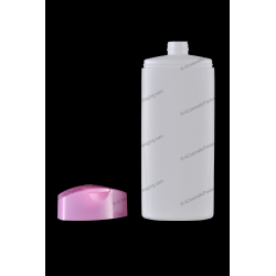 200ml Plastic HDPE Bottle with Flip Top Cap for Cosmetics Packaging