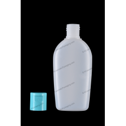150ml 5oz Plastic HDPE Bottle 20/415 Neck Finish with Flip Top Cap for Cosmetics Packaging