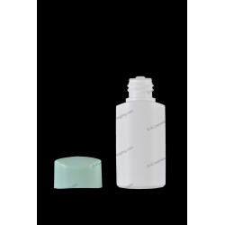 30ml 1oz Plastic HDPE Bottle with Orifice Reducer and Cap for Cosmetics Packaging