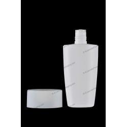 75ml 100ml 200ml Plastic HDPE Bottle with Orifice Reducer for Cosmetics Packaging