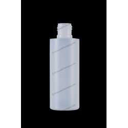 120ml 4oz Plastic HDPE Bottle 24/410 Neck Finish for Cosmetics Packaging