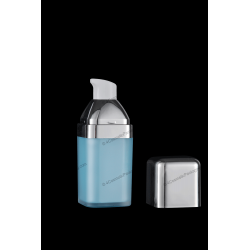 15ml SAN Bottle with Lotion Pump for Cosmetics Packaging