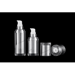 15ml 30ml Acrylic Lotion Bottle for Cosmetics Packaging