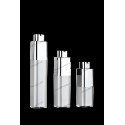 15ml 30ml 50ml Square Rotary Airless Bottle for Cosmetics Packaging
