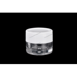 8ml AS Jar for Cosmetics Packaging