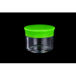 12ml Plastic AS Jar for Cosmetics Packaging