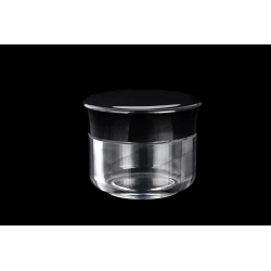 20ml Plastic AS Jar for Cosmetics Packaging